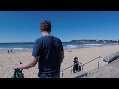 Manly Beach Walk from North to South