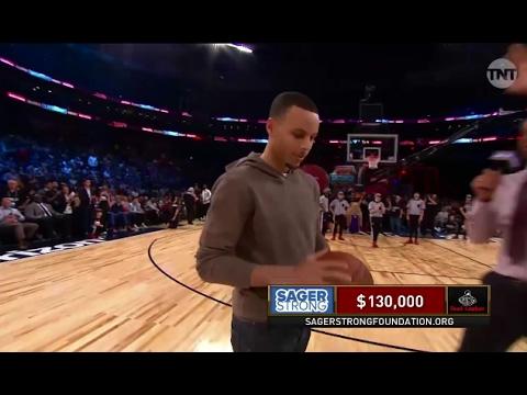 Steph Curry Misses Nine Halfcourt Shots...