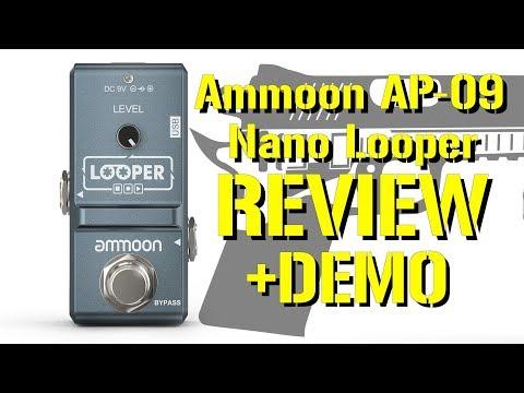 $24 Ammoon AP-09 Nano Looper Review and Demo