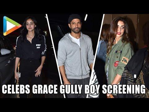 Deepika Padukone, Alia Bhatt, Ranbir Kapoor & others at Screening of 'Gully Boy' | Part 2 Mp3