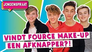 FOURCE TEST MAKE-UP | JONGENSPRAAT #5  | TinaTV