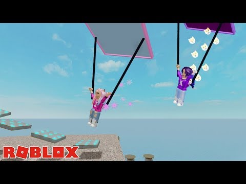 FALLING FROM THE SKY OBBY DASH! / ROBLOX