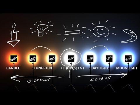 White Balance & Kelvin Color temp explained 💡