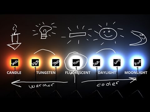 White Balance & Kelvin Color temp explained