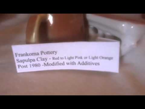 How To Identify Frankoma Pottery Age By The Clay
