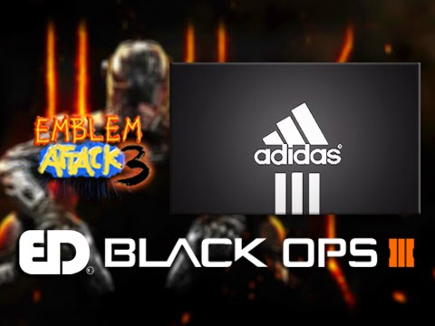 Black Ops 3: EASY ADIDAS Emblem Tutorial (Emblem Attack 3)