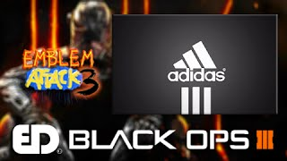 Black Ops 3: EASY ADIDAS Emblem Tutorial (Emblem Attack 3)