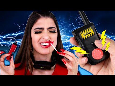 Doing My Makeup While Wearing A Shock Collar! thumbnail
