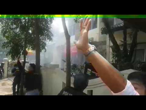 Detik-detik penyergapan pelaku teror bom Kota Bandung