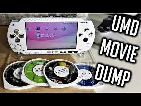 PSP Hacks: How To Copy UMD Movies To Your PSP | Tutorial 2020 Edition | CFW 6.60 Pro Infinity 2.0