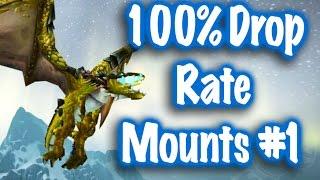 Jessiehealz - 100% Drop Rate Mounts #1 (World of Warcraft)