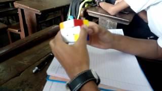 solving a rubics cube in 40 sec