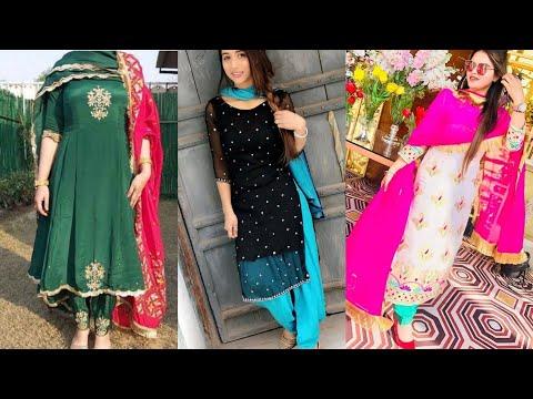 Latest Punjabi Suit designs 2020 | Patiala Salwar Suit design | #punjabisuit #patialasuit