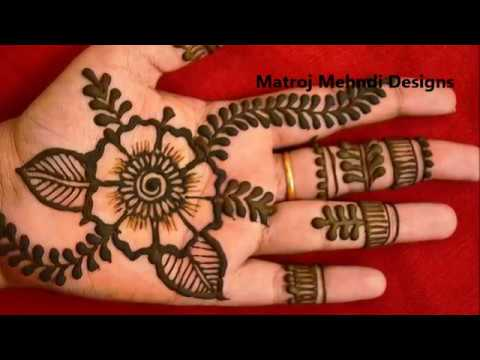 New Stylish Simple Easy Mehndi Designs For Hands Mehndi Designs