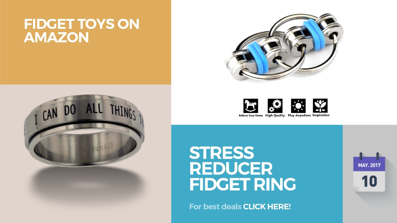 Stress Reducer Fidget Ring Toys On Amazon