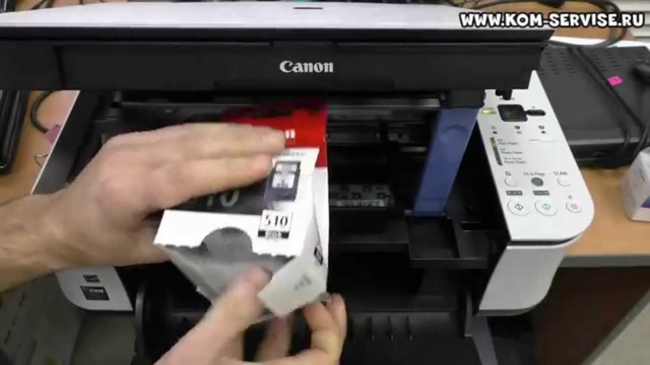 инструкция для заправки картриджей canon mg3240