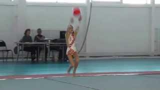 2003 Дубинина Лена мяч-10.11.2012