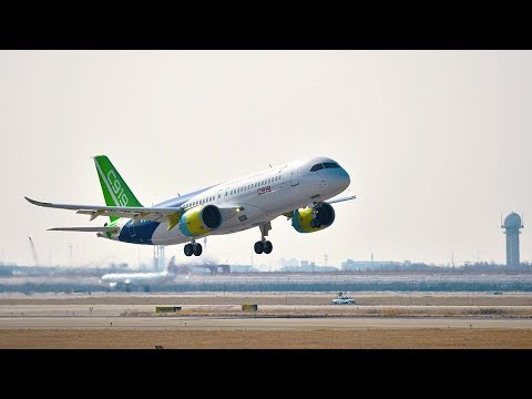 Second China-made C919 jet completes first trial flight