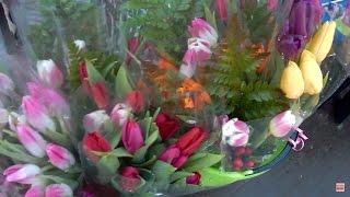 Сколько зарабатывают продавцы цветов накануне 8 марта?