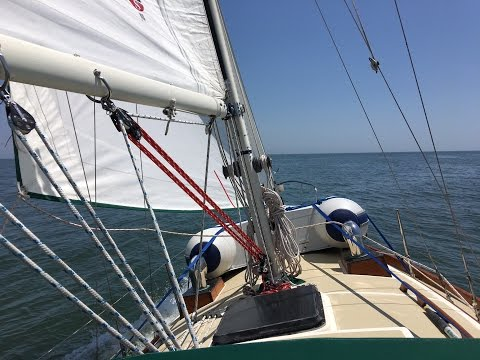 S/V SeaSprite's Big Adventure  - Offshore from Charleston SC to Southport NC