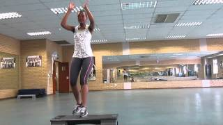 Step aerobics advanced step by Tiisetso Lephoto