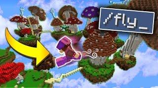 FLY HACKER GETS BANNED! (Minecraft Money Wars)
