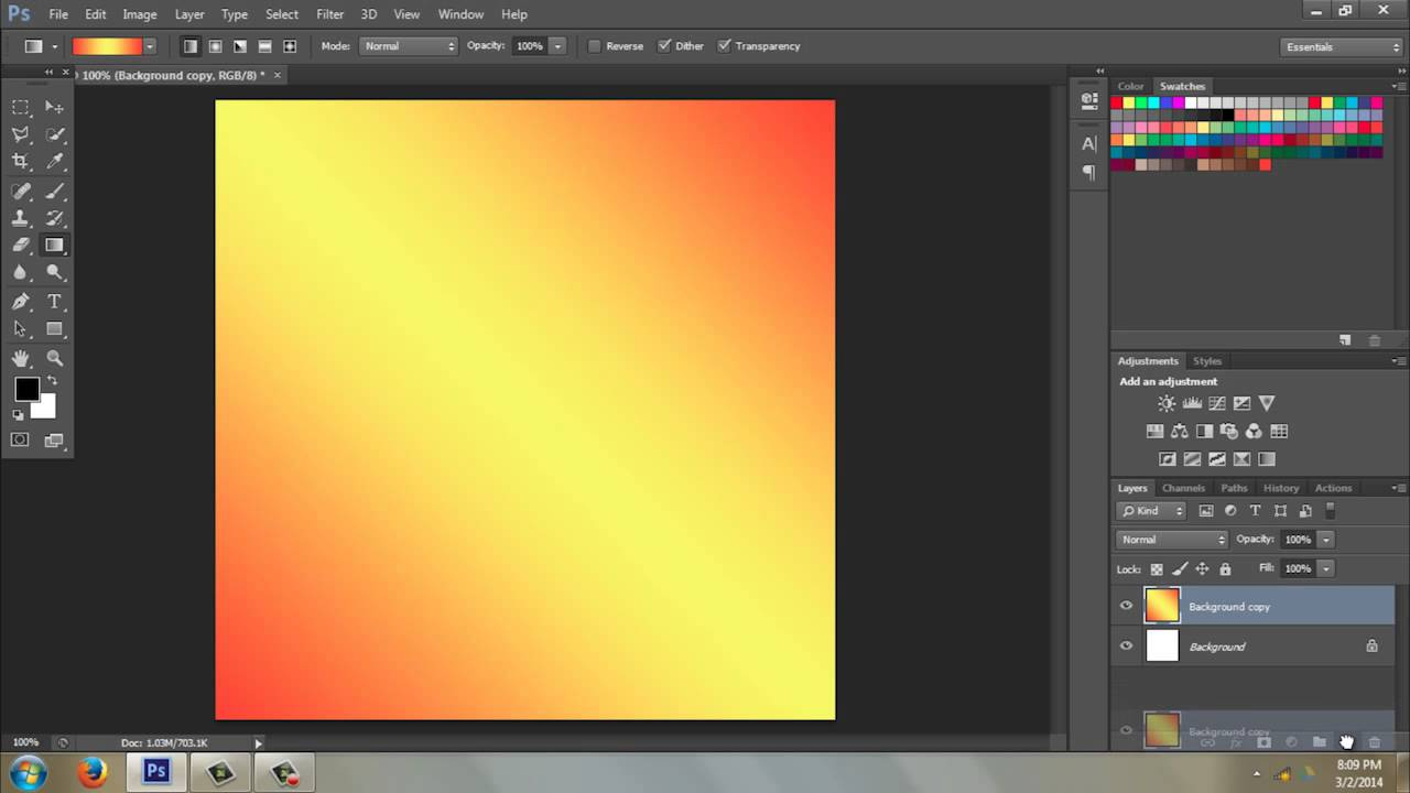 How to Use the Gradient Tool in Photoshop CS6 : Photoshop CS6 & Elements -  YouTube