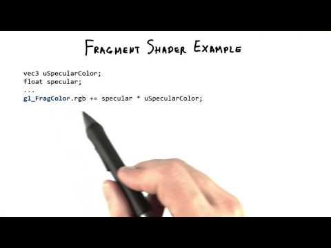 Fragment Shader Example - Interactive 3D Graphics