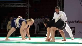 Women U21   +80kg   Final   Shitikova Elena RUS Gold Medal vs Sheynova  Nadia BUL SIlver Medal