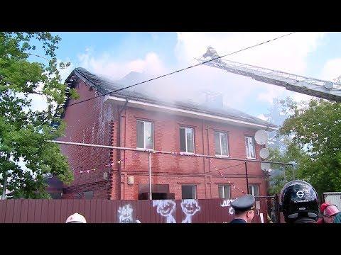 Пожар в детском садике / Новости