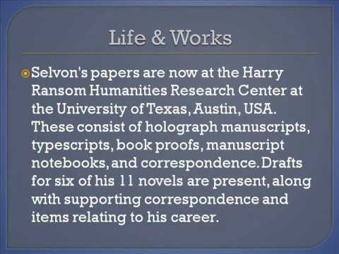 Samuel Selvon Life & Works
