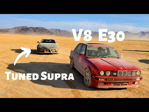 BMW E30 vs Tuned Toyota Supra (ft. Vehicle Virgins)