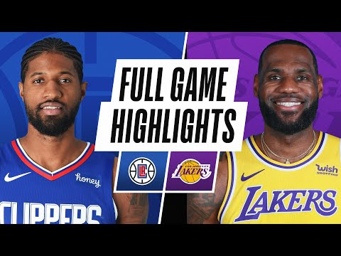 CLIPPERS at LAKERS | FULL GAME HIGHLIGHTS | December 22, 2020