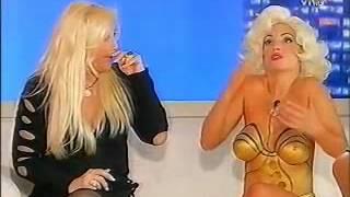 MariaEugeniaRito SusanaGimenez Bodypaint Tanga