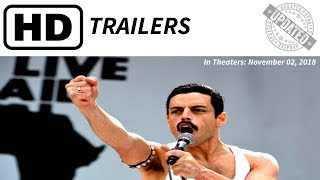 BOHEMIAN RHAPSODY Trailer | Theaters:  Nov. 02, 2018 |
