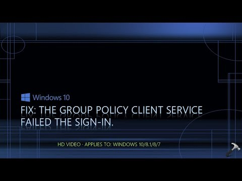 group client service failed logon windows 7