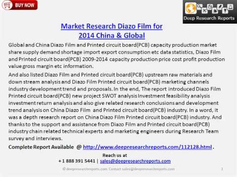 Diazo Film China and Global Market Report 2014