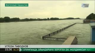 В Усть-Каменогорске за сутки подтоплено 7 дач