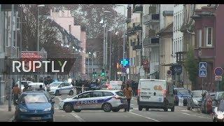 LIVE: Police operation underway in Strasbourg