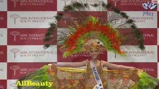 Miss International 2015 National Costume PARAGUAY Mónica Mariani