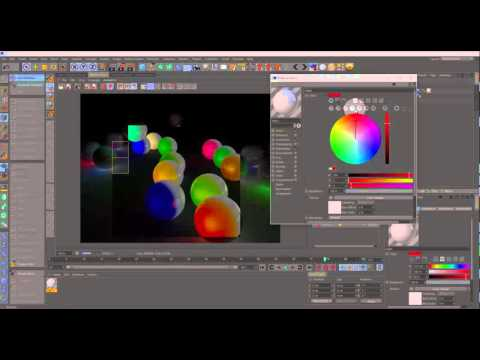 Mograph Color Shader Tutorial for Cinema 4D (GER Voice)
