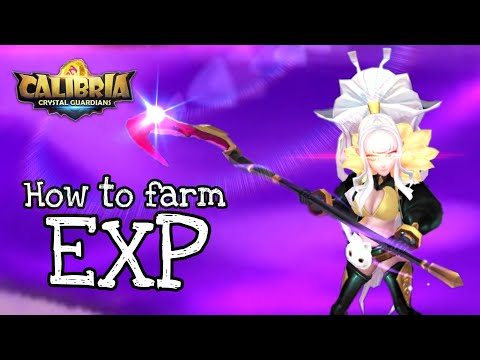 Where To Farm EXP And Which Nat5's To Do The Job? (Calibria: Crystal Guardians)
