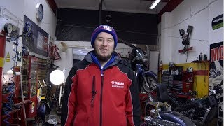 Z89 Vlog Pracowity tydzień warsztat pełen motocykli