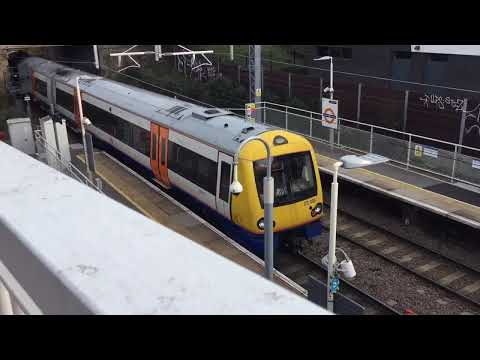 London Overground Class 172 005 Departing Blackhorse Road for Barking