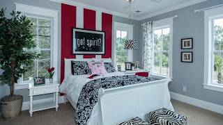 Beat the Boredom with Striped Accent Walls for the Bedroom – Ideas, Photos