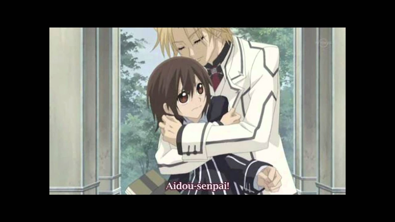 Aidou And Yuuki Kissing Scene