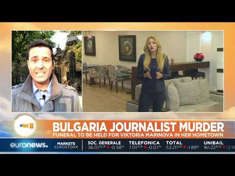 #GME   Murdered Bulgarian journalist Viktoria Marinova funeral