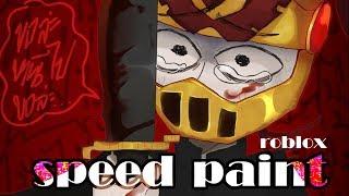 Speedpaint : [ roblox ] Ranaway from me