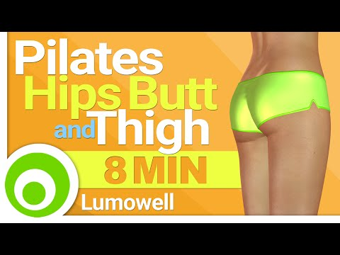 8 Minute Pilates Hips, Butt and Thighs Shaper Workout