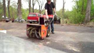 Jacbson Imperal 626 snow blower